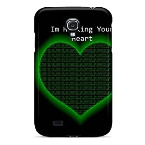 XRwgzJN7838NglVQ MeSusges Hacking Your Heart Feeling Galaxy S4 On Your Style Birthday Gift Cover Case