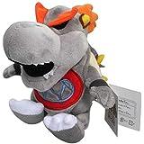 Super Mario Bros 3D Dry Bones Bowser 7 Inch Toddler Stuffed Plush Kids Toys