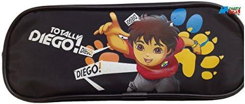 Black Diego Plastic Pencil Case Pencil Box