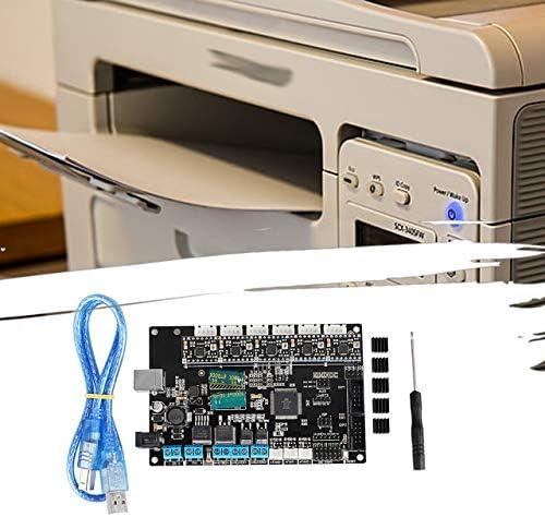 Accessori per stampanti 3D Scheda di Controllo della Scheda Madre Trigorilla Mega2560 e Rampe 1.4 Aggiornamento della Scheda Madre Nera (Nera) ITjasnyfall