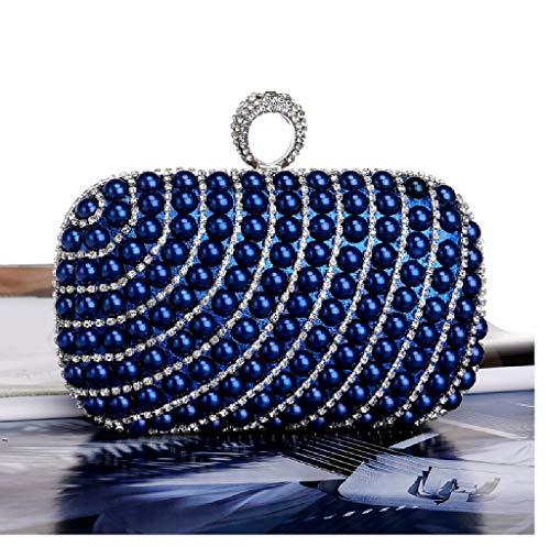 Azul 2 UYHB436 al Bolso Azul hombro para mujer BESTWALED azul qfz4PPA
