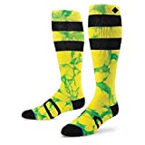 Stance Unisex Groomer (Little Kid/Big Kid) Yellow Socks