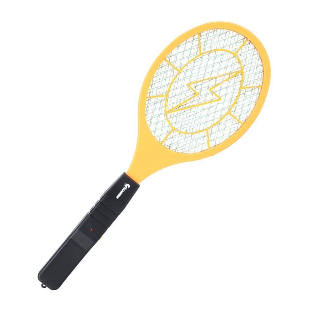 Kmltail Mosquito Killing Racket-Yellow