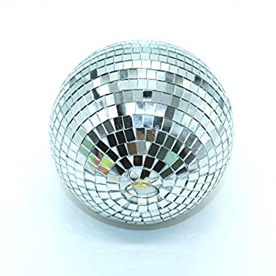 """6"""" Mirror Disco Ball By IDS,Silver from IDS Manufacturer"""