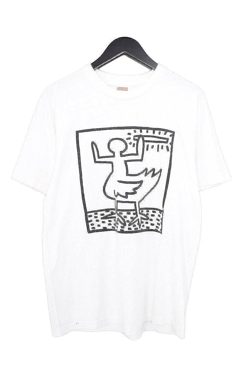 (シュプリーム) SUPREME 【09SS】【Duck Joint Tee】×Malcolm MclarenボックスロゴプリントTシャツ(M/ホワイト) 中古 B07FY8X138