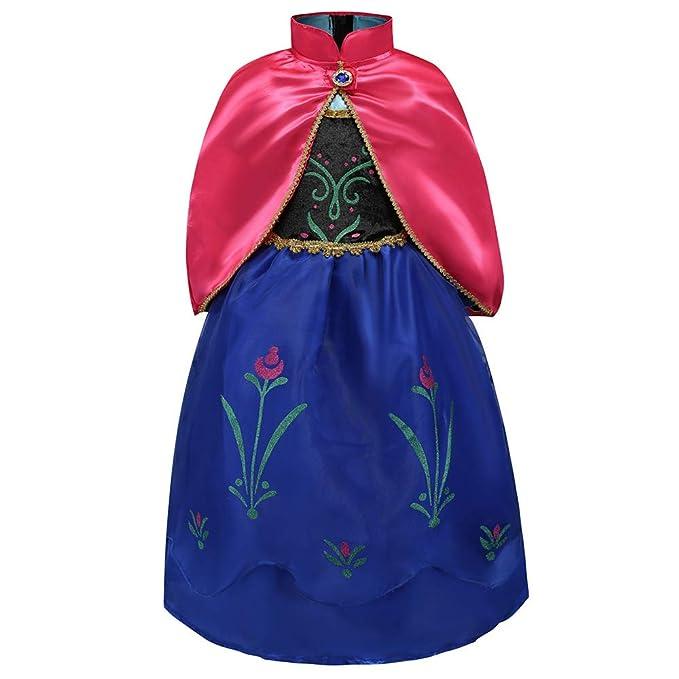 Amazon.com: ANNA inspirado en invierno vestido de Disney ...