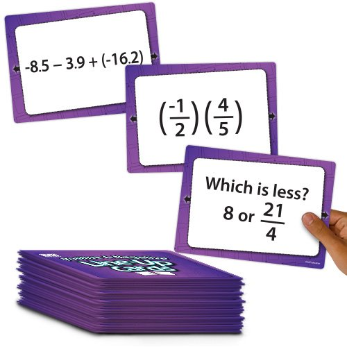 (EAI Education Positive and Negative Line-Up Cards: Grade 6+)