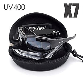 42e085f424a Tactical eyewear 4LS Mens X7 Military polarized Sunglasses Bullet-proof  airsoft shooting Gafas smoke lens