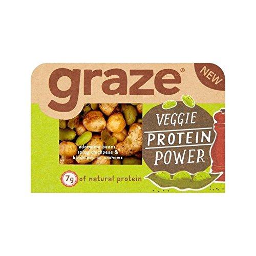 Graze Veggie Protein Power Snack 28g - Pack of 4
