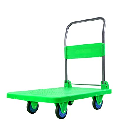 1c8bed77ced1 Amazon.com: ZH-Folding trolley Push Cart Dolly | Functional Moving ...