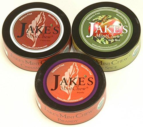 Jake's Mint Chew - Cinnamon, Apple Spice, Brandy - Tobacco & Nicotine - Brandy Cinnamon