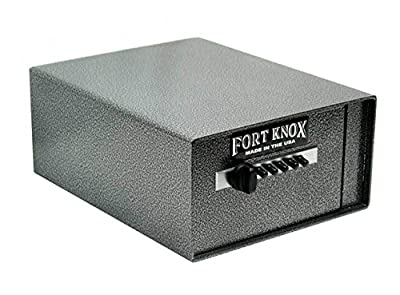 "Fort Knox Personal Handgun Safe PB4 + Free Dean Safe 13.5"" Pistol Sock"