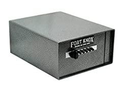 """Strength and Reliability are two words that best describe this beautifully crafted Fort Knox Personal Pistol Safe. With a thick 10-gauge steel body and a 3/16"""" tamper-resistant door this safe is not only practically impossible to break open b..."""