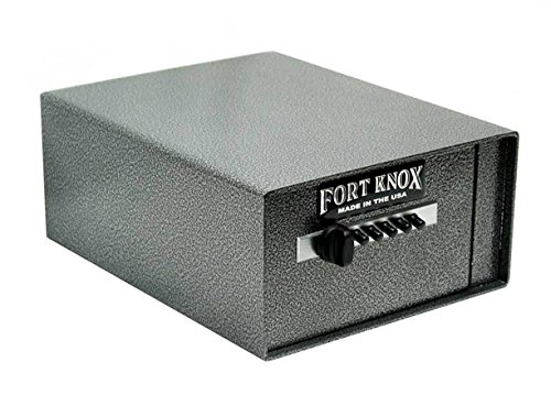 Fort Knox Personal Handgun Safe PB4 + Free Dean Safe 13.5'' Pistol Sock by Fort Knox