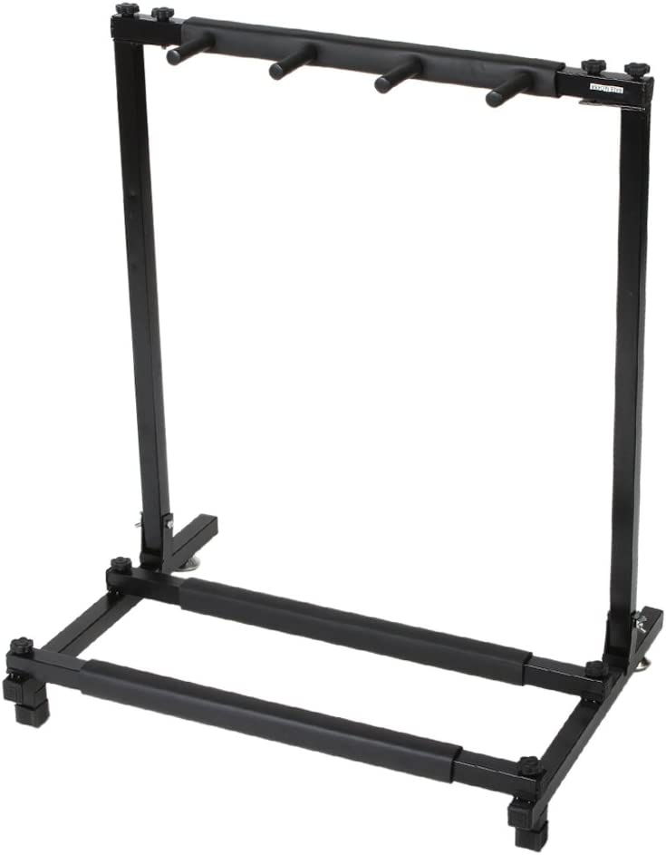 Kuyal Iron Guitar Stand Multi-Guitar Display Rack Bass Folding Stand Band Stage Bass Acoustic Guitar