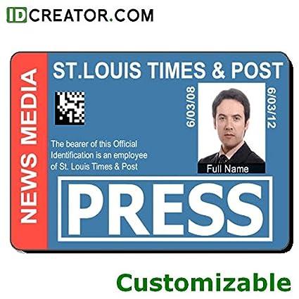 Custom Id Amazon Products Press com Office Badge