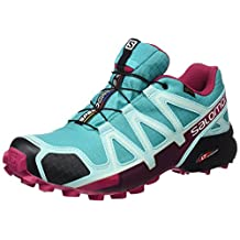 Salomon Speedcross 4 GTX Ceramic/Aruba Blue/Sangria Women's Shoes
