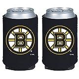 NHL Hockey 2014 Team Color Logo Can Kaddy Holder Koozie Cooler 2-Pack