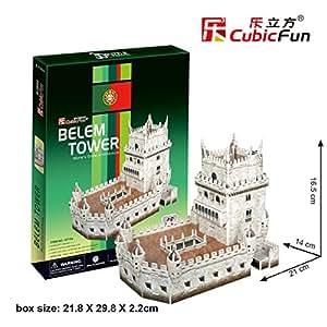 Cubicfun  - Puzzle en 3d torre de belem