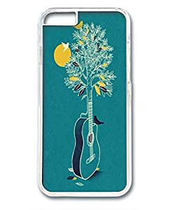 iphone 6plus case,iphone 6plus PC transparent casefashion Style Fancy Colorful Pattern Back Case Cover Fit for iphone6plus (5.5 Inch),provides maximum protection for iphone 6plus,Cute design for iphone 6plus 5.5 inch,guitar tree by runtopwell