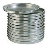 American Metalcraft HA80101.5 American Metalcraft HA80101.5 Series HA8000 Straight Sided Pan, 14 Gauge Thickness, 10'' Diameter, 1.5'' Height, Aluminum, Aluminium,