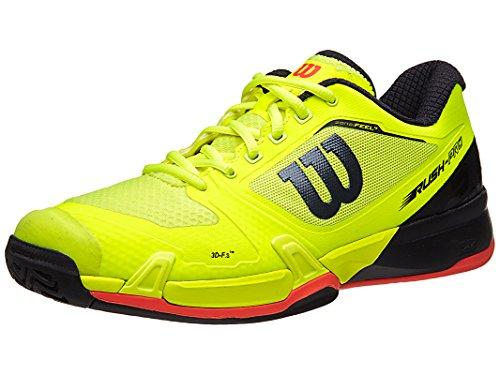Wilson Rush Pro 2.5 Ye/Rd Mens Shoe 9.5