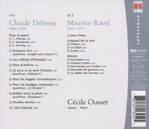 Claude Debussy, Maurice Ravel: Klavierwerke by Berlin Classics