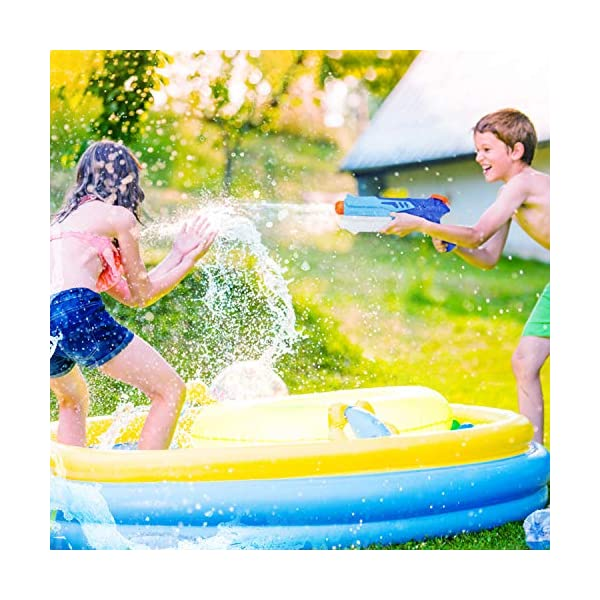 Ucradle 2 Pistole ad Acqua Bambini, Squirt Gun per Bambini e Adulti Estivi All'aperto per Divertimento, 300ML Summer… 4 spesavip