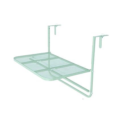 Amazon.com: Mesa de balcón para colgar de Hairhen, de metal ...