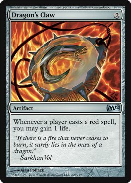 Dragon's Claw (Card Claw)