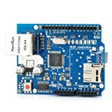 Gowoops W5100 Ethernet Shield Network Module with Micro SD Card Slot for Arduino UNO R3 Mega 2560 1280 328 UNR