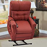 Med-Lift Two-Way Reclining Lift Chair with Magazine Pocket (Charolette Sunset)