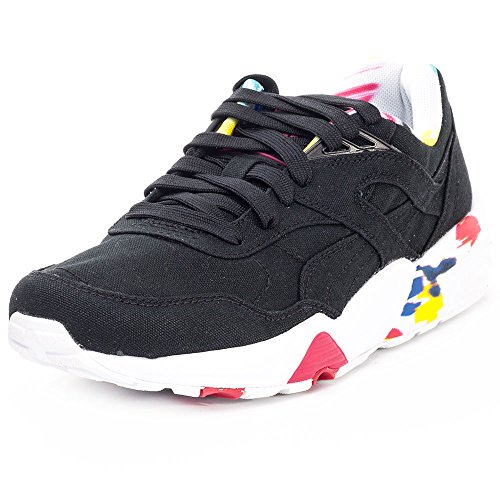 Puma Damen R698 Blur Low-Top, Schwarz Black