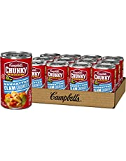 Campbell's Chunky Manhattan Clam Chowder, 18.8 Ounce (Pack of 12)