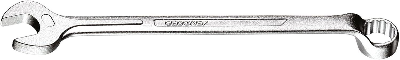 geschmiedet gekr/öpft matt verchromt DIN 3113 Form B GEDORE 1 B 1//2W Ring-Maulschl/üssel 1//2 W 10/° abgewinkelt mit UD-Profil 12-kant