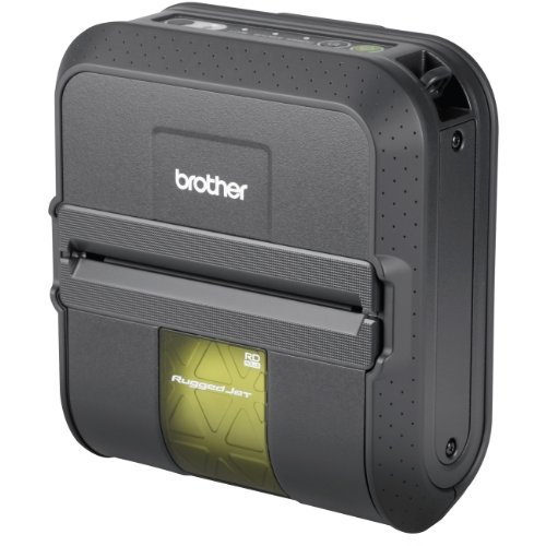 Brother Industries, Ltd – Brother RuggedJet RJ4030 Direct Thermal Printer – Monochrome – Mobile – Label Print – NO BATTERY, NO CABLES
