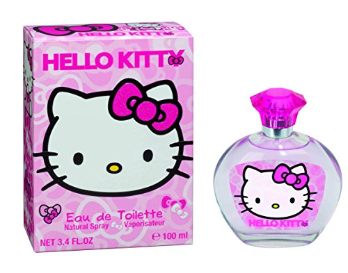 Cherry Mandarin Eau De Toilette - Hello Kitty Eau de Toilette Spray, 3.4 Ounce, For Women