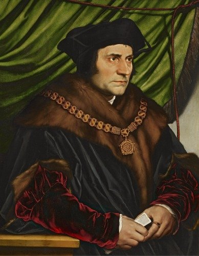SAINT THOMAS MORE GLOSSY POSTER PICTURE PHOTO BANNER st english catholic by ConversationPrints