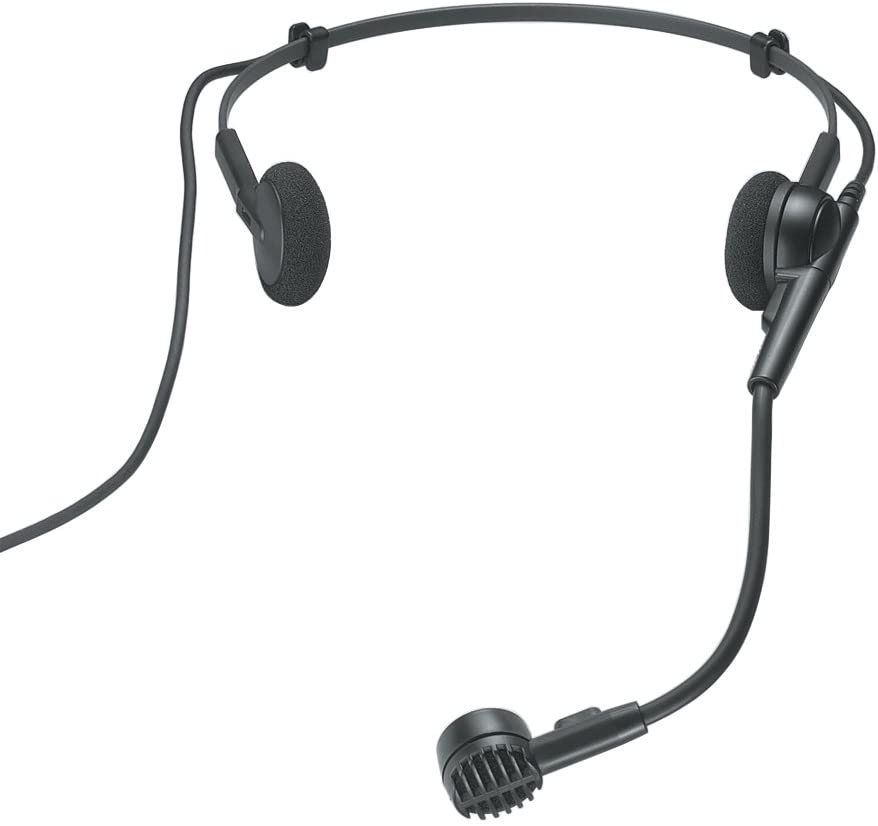 Audio-Technica PRO 8HEcW Hypercardioid Dynamic Headworn Microphone