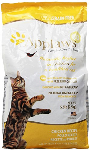 Applaws Cat 80 Chicken Grain 5.5 lb Free Food (1 Pack), One Size