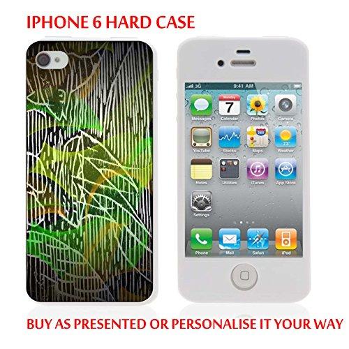 Gc58_iph6 Coque Étui iPhone 6 couleurs graphic design personnalisé avec votre texte personnalisé produits fabriqués et vendus Par ThatVinylPlace