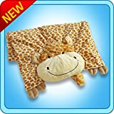 The Original My Pillow Pets Giraffe Blanket (Yellow and Tan)