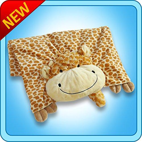 The Original My Pillow Pets Giraffe Blanket (Yellow and -