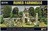 Bolt Action Ruined Farmhouse 1:56 WWII Military