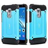 Huawei Nova Plus Case, J&D [ArmorBox] [Dual Layer] Hybrid Shock Proof Protective Rugged Case for Huawei Nova Plus - Blue