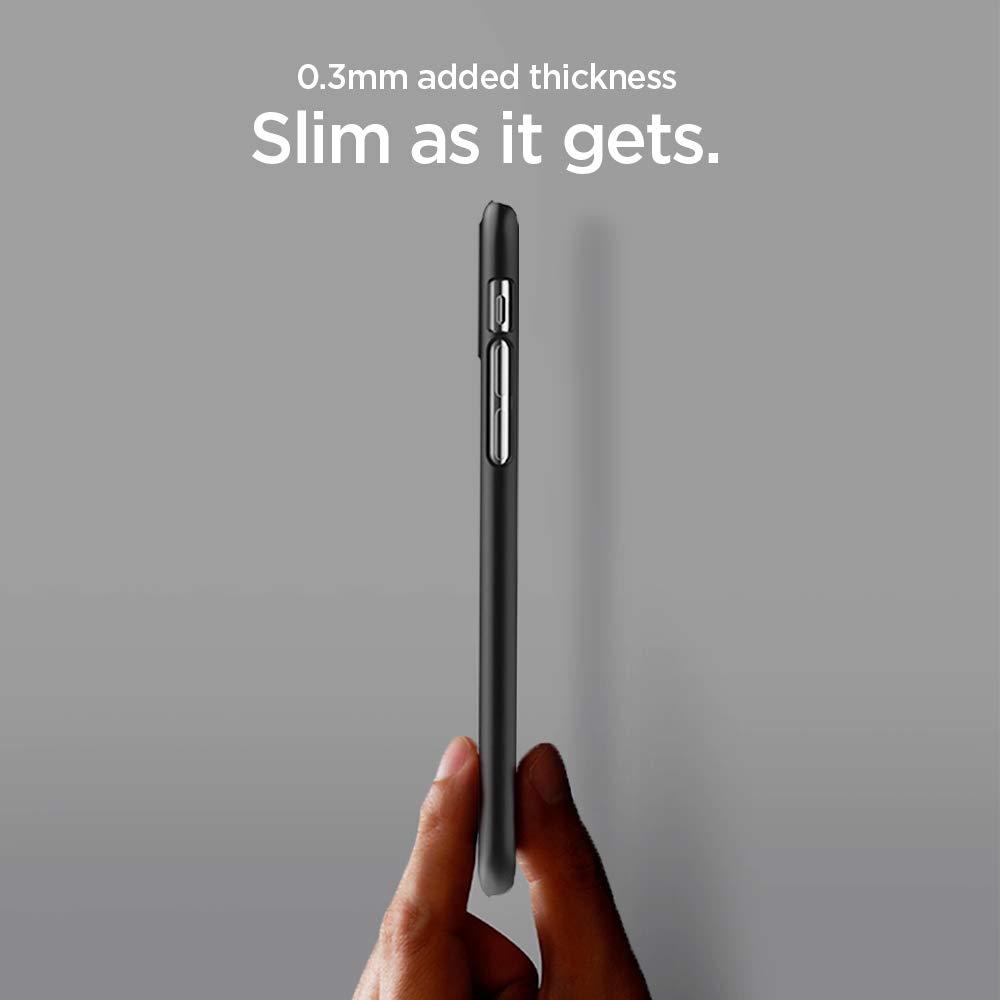 Spigen Thin Fit Designed For Apple Iphone Xs Max Case Xr Super Light Slim 03mm Air Skin Casing Soft Clear 2018 Black Electronics