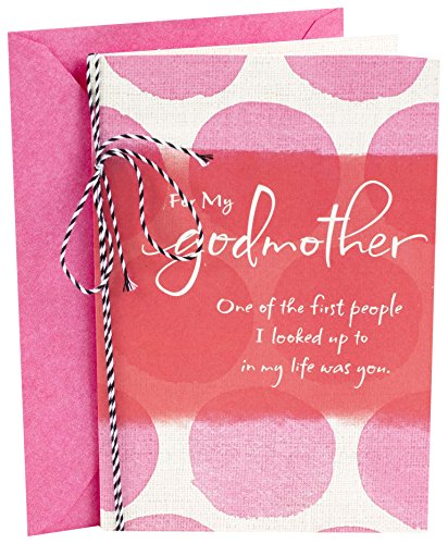 Hallmark Mother's Day Greeting Card for Godmother (One of the First People I Looked Up To)