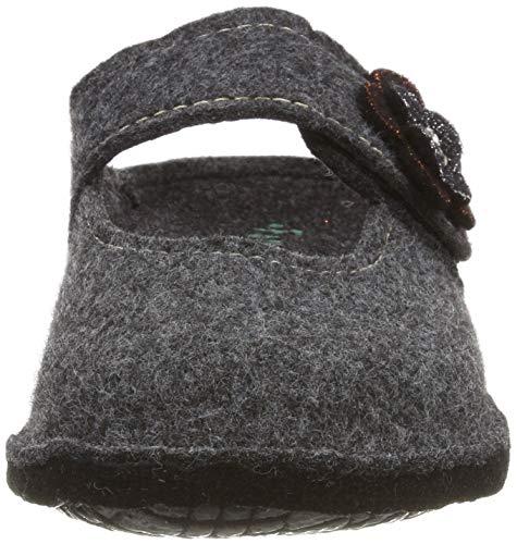 37 Grigio Donna 7600160 Fargeot anthracite Pantofole Macao q6WwnYa