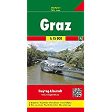 GRAZ, Austria FB City Pocket Map 1:10000