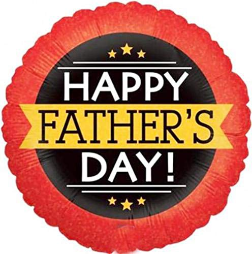 1 x Happy Fathers Day Banner Betallic Holographic 18
